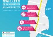 2015年は巨大ウォータースライドも登場!マンハッタンが歩行者天国になる「Summer Streets 」