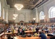 ニューヨーク公共図書館の美しい読書室「The Rose Main Reading Room」