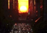 1年で最も美しい夕暮れ時「マンハッタンヘンジ」2016年の日程