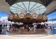 ブルックリン・ブリッジ公園のメリーゴーランド「Janes Carousel」