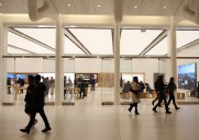 Apple Store World Trade Center  – オキュラス内にオープンした市内10番目のお店