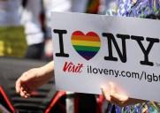 性の多様性を称えるパレード「プライドマーチ」