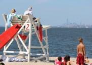 6.7キロの白砂ビーチ!ニュージャージーの半島「サンディ・フック」で泳ごう