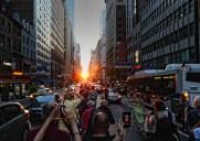 1年で最も美しい夕暮れ時「マンハッタンヘンジ」を見る方法(2017年度版)