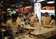 ブルックリンの「ディカルブマーケットホール」でカッツのパストラミを食べました
