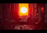 1年で最も美しい夕暮れ時「マンハッタンヘンジ」を見る方法(2018年版)