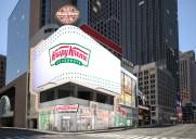クリスピークリームがタイムズスクエアーに出店!24時間営業の大型店が2020年にオープン