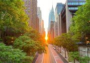 美しい夕陽が見れる42丁目の橋「テューダーシティーブリッジ」