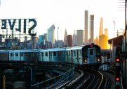 プラットフォームからの眺めが美しい駅「Queensboro Plaza Station」