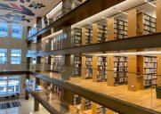 屋上テラスがあるミッドタウンの図書館「Stavros Niarchos Foundation Library」