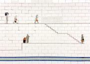 ジャネット・ツヴァイクによる地下鉄アート「Carrying On」