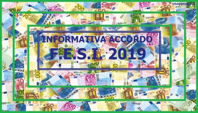Informativa Accordo F.E.S.I. 2019
