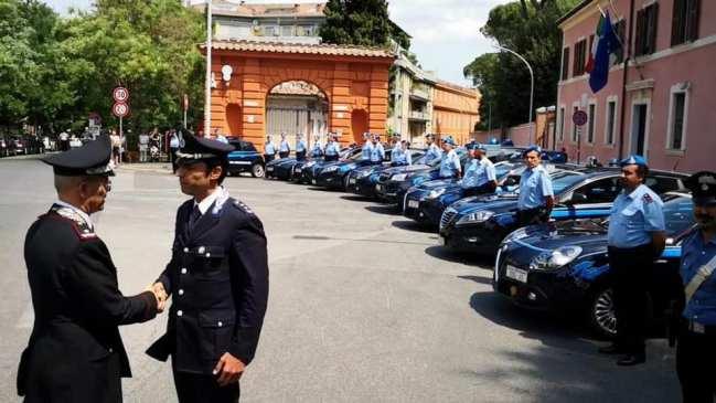OMAGGIO DELL'ARMA PER IL 203° ANNIVERSARIO FONDAZIONE DEL CORPO DI POLIZIA PENITENZIARIA