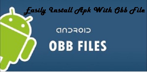 Install APK with OBB