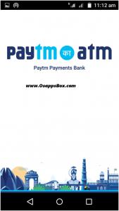 Paytm Ka atm App started