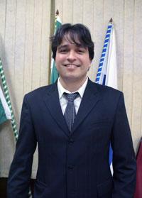 O médico e vereador Pedro Ricardo apresentou, entre outros, dois projetos na área da saúde. Foto: Edimilson Soares.