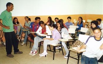 Marques, da ONG Poabas, faz parte da equipe que administrou o curso.