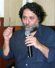 O superintendente da Agenda 21 do RJ, Carlos Frederico