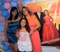 Aniversariantes Renato e Maria Eduarda