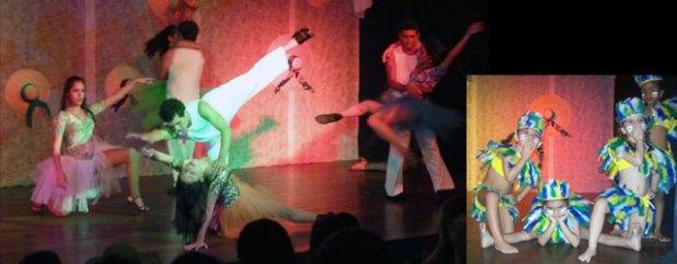 A coreografia Damas da Noite foi uma das mais aplaudidas e as Caboclinhas, da turminha Baby Class, foi bem ensaiada e engraçadinha. Parabéns  também à equipe do som e luz: Rafael, Helô e Tininha.
