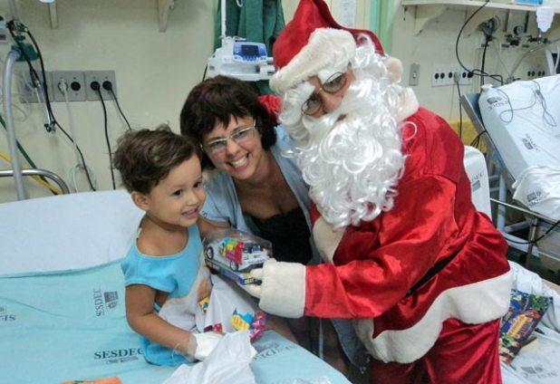 Hospital de Araruama no Natal 2010