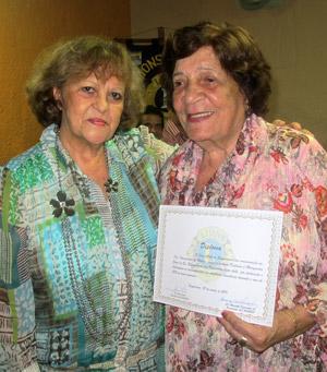 Ivone e Margarida, uma amizade de 40 anos. Foto: Edimilson Soares.