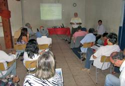 A reunião do Subcomitê de Saquarema foi na Colônia dos Pescadores e tratou de vários assuntos ambientais... (foto: Monique Barcellos)