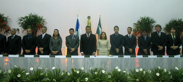 A Sessão Solene foi no Centro de Desenvolvimento do Vôlei em Barra Nova. Fotos: Edimilson Soares.