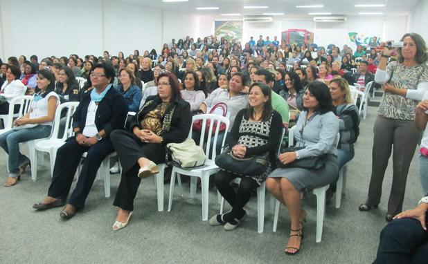 O II Forum da Educação debateu o Projeto Político Pedagógico do Municipio. Foto: Edimilson Soares.