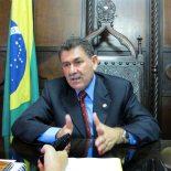Paulo Melo há 6 meses na presidência da ALERJ (Foto: Edimilson Soares)