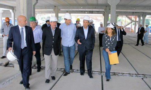 Governador Sérgio Cabral visita as obras do Hospital de Bacaxá