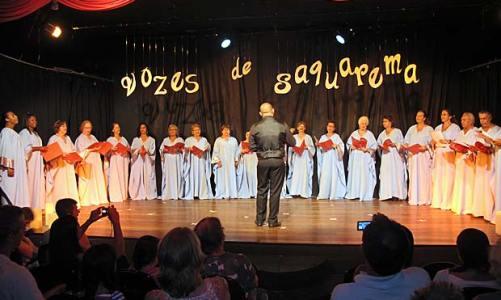 Coral Vozes de Saquarema encanta o público