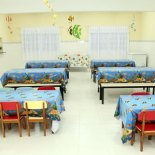 O novo refeitório da Escola Osíris Palmier da Veiga. (Fotos: Waldo Siqueira)