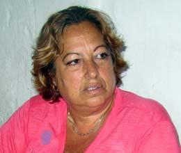 A nova presidente Layla Garrido