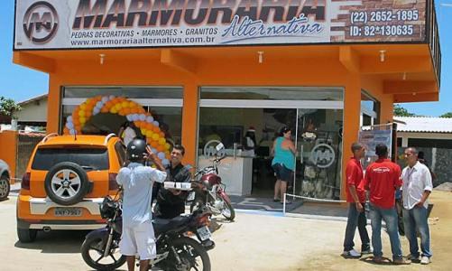 Nova loja da Marmoraria Alternativa