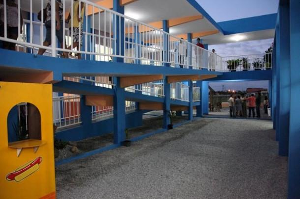 A recém-inaugurada escola no Jardim Ipitangas. (Foto: Waldo Siqueira / Ascom PMS)