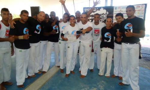6o Saquá Beach de Capoeira percorreu diversos bairros