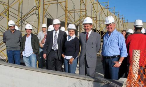 Obras do novo hospital de Saquarema estão em ritmo muito acelerado