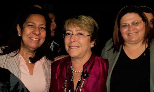 "Secretaria da Mulher participou da ""Roda da  Conversa"" com Michelle Bachelet no CEDIM, na Rio+20"