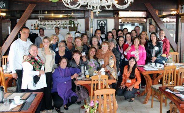 Mulheres empreendedoras e convidados confraternizaram no Café da Manhã promovido pela AMEAS  e Associação Comercial e Agropastoril de Saquarema. (Foto: Edimilson Soares)