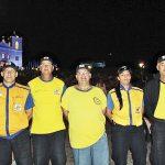 Membros da Defesa Civil de Saquarema em ação. (Foto: Edimilson Soares)