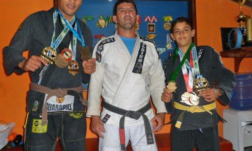 Conquistas da Academia SaquaFit fortalecem o jiu-jitsu