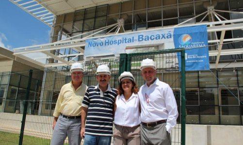 Quase pronto o novo hospital de Saquarema