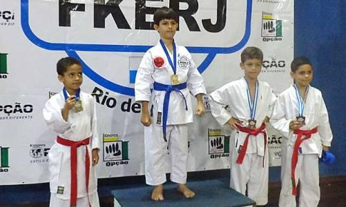Ano de muitas conquistas no karate
