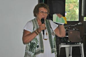 Edna Calheiros, presidente da Ameas Assoc de Mulheres.