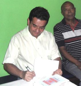 O trovador João Costa,  editor da Revista Horizonte.(Foto: Divulgação)