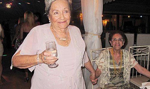 Os 90 anos de Dona Dilce, a Tia Guria