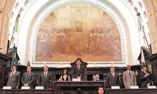 Paulo Melo de novo presidente da ALERJ
