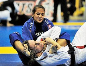 Bia vai a duas finais do absoluto com Gabi Garcia, não consegue superar a muralha, mas leva o ouro da sua categoria no Mundial Pro (Foto: gentilmente cedida pela GracieMag)