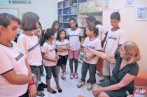 Na Escola Municipal Osires Palmier da Veiga, em Barra Nova a experiência bem sucedida da Sala de Leitura (Foto: Edimilson Soares)